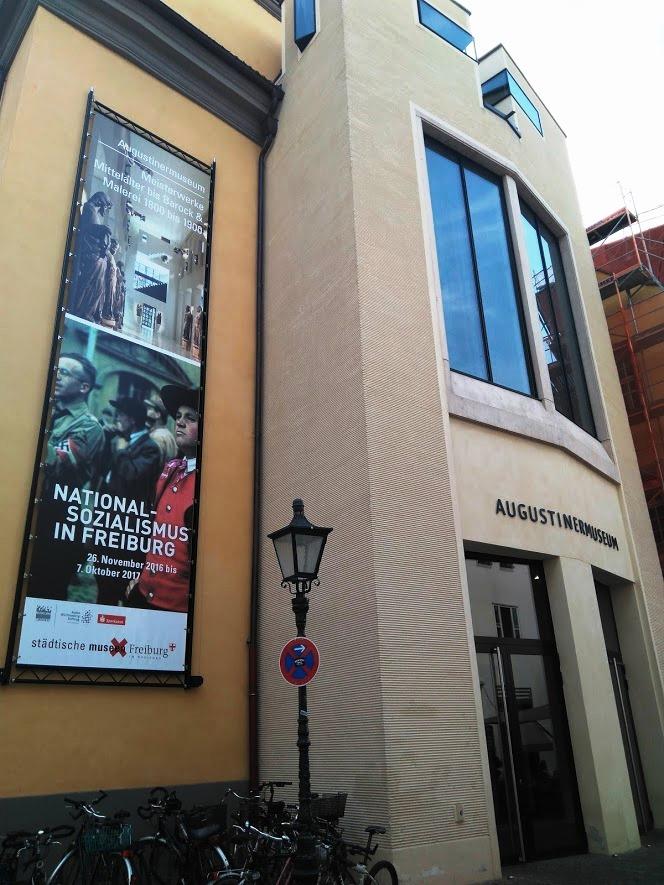 Entrada a la exposición en el Augustinermuseum de Friburgo - Foto: elinquilinodigital
