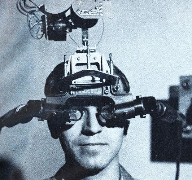 Primer casco RV de Ivan Sutherland, 1965 - Foto: Web